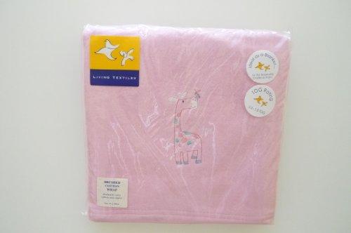 Baby-Coperta in cotone, 75 x 100 cm, colore: rosa