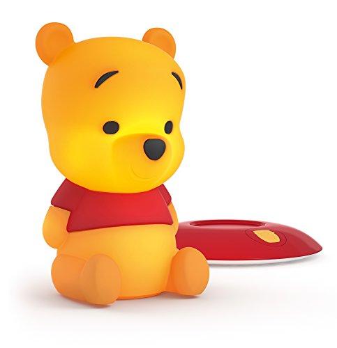 Philips Disney Winnie the Pooh Lampada da Tavolo, Plastica, Giallo