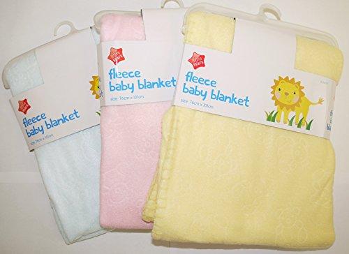 5starwarehouse® New Baby, per neonati, scialle, coperta in pile per culla, lettino, culla Moses, per gravidanza
