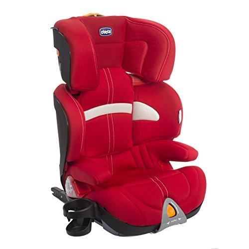 Chicco 07079245780000 Oasys 2-3 Fixplus Seggiolino Auto, Rosso