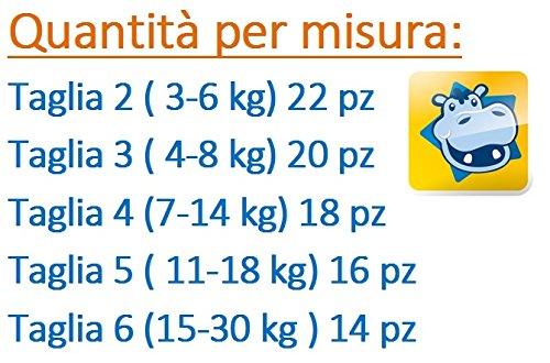 176 PANNOLINI HUGGIES UNISTAR 8 PACCHI TAGLIA 2