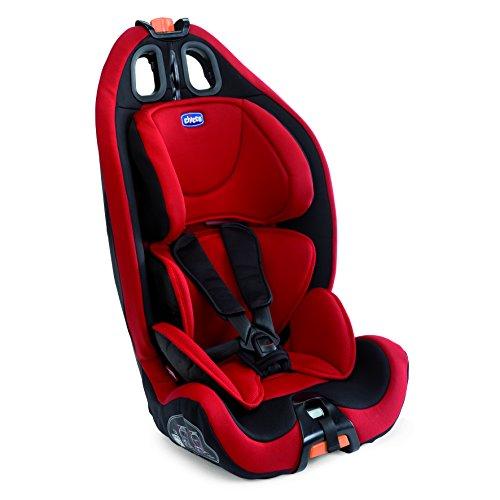 Chicco 07079583780000 Gro-Up 123 Seggiolino Auto, Rosso