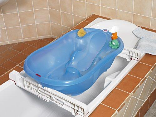 Vaschetta bimbo okbaby vaschetta onda azzurro mamma happy - Vaschetta bagno bimbo ...