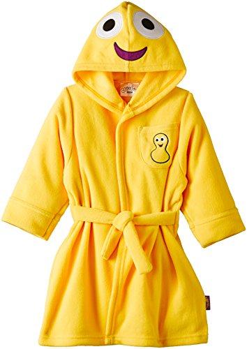 CBeebies - CBeebies Dressing Gown, Accappatoio per bambini e ragazzi, giallo (yellow), 5 anni